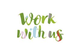 Work with us.